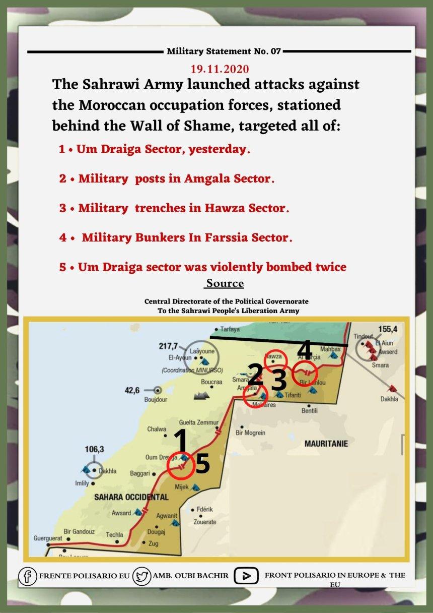 ¡ÚLTIMAS noticias – Sahara Occidental! | 19 de noviembre de 2020