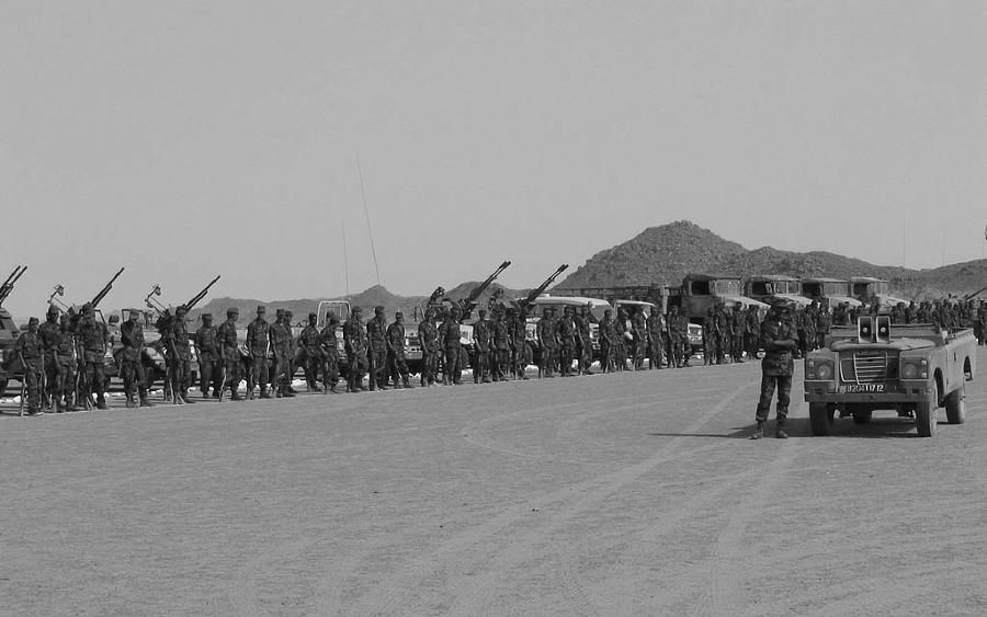 Sahara Occidental ejercito nacional saharaui la-tinta