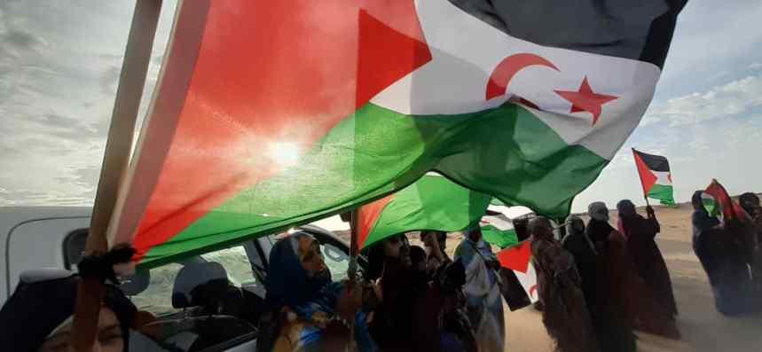 En memoria de Gdeim Izik, el decimonoveno día de protestas en El Garguerat, se dedica a los presos políticos saharauis | Sahara Press Service