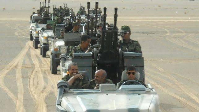 Guerra en el Sahara   Parte de guerra Nº18