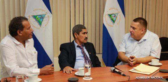 Embajador saharaui en Managua recibido por el presidente del Grupo Parlamentario Nicaragüense de Amistad con la RASD | Sahara Press Service