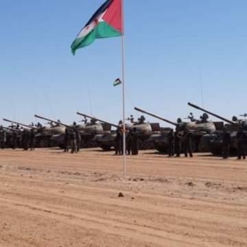 Dieciséis días consecutivos de bombardeos y ataques a posiciones enemigas a lo largo del muro militar marroquí | Sahara Press Service