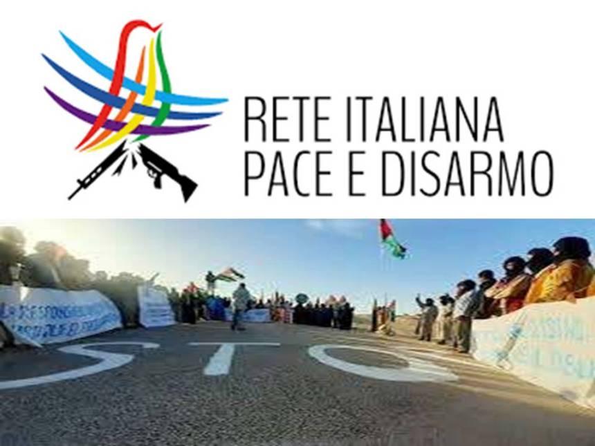 La Red Italiana Paz y Desarme pide a la UE que condene la acción militar contra civiles saharaui en el Guerguerat | Sahara Press Service