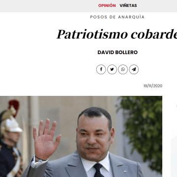 Patriotismo cobarde – Posos de anarquía