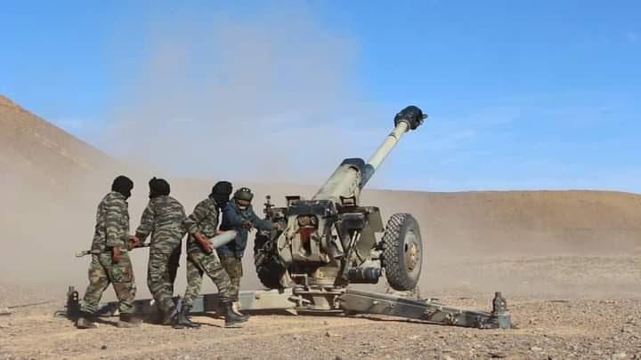 GUERRA EN EL SAHARA   Parte de Guerra Nº34
