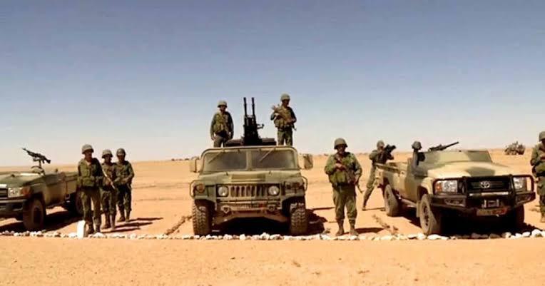 Marruecos acantona tropas en Mahbes y Hauza