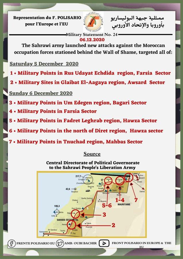 ¡ÚLTIMAS noticias – Sahara Occidental! | 6 de diciembre de 2020