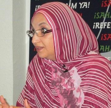 Le Maroc «maladroit», gère avec «improvisation» la situation au Sahara occidental, (Aminatou Haidar) | Sahara Press Service