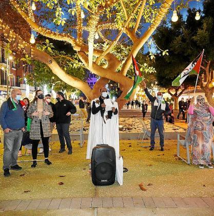 Ibiza: Concentración en Paseo Vara de Rey en apoyo al pueblo saharaui (PRENSA) | Sahara Press Service