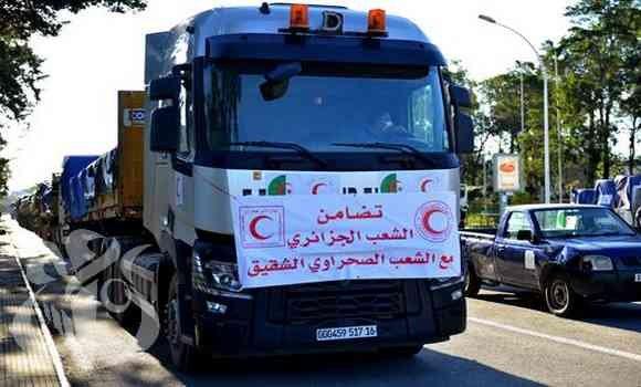 Une caravane d'aides alimentaires se dirigera le 7 janvier vers les camps des réfugiés sahraouis   Sahara Press Service