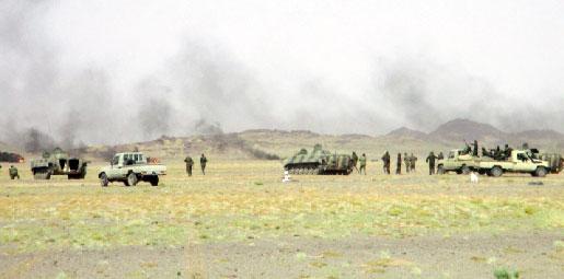 Parte de Guerra Nº 21: Los ataques del ELPS continúan convirtiendo en escombros las bases enemigas | Sahara Press Service