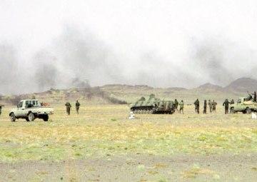 Parte de Guerra Nº 21: Los ataques del ELPS continúan convirtiendo en escombros las bases enemigas   Sahara Press Service