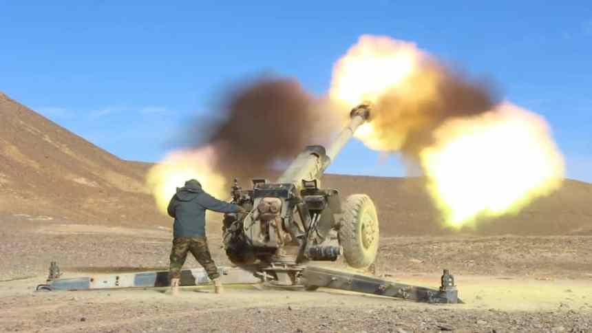 Parte de Guerra Nº 27: Bombardeos concentrados contra los atrincheramientos de las fuerzas de ocupación marroquí