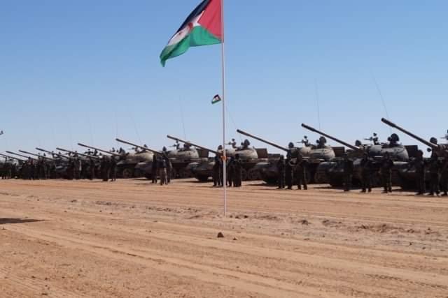 23 días de continuos bombardeos y ataques a posiciones enemigas a lo largo del muro militar marroquí | Sahara Press Service