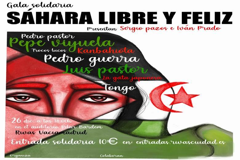 Rivas acoge este sábado la Gala Solidaria Sáhara Libre y Feliz