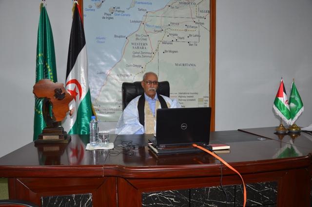 La República Saharaui toma parte en los trabajos de la primera cumbre virtual de la UA sobre TLC africano | Sahara Press Service