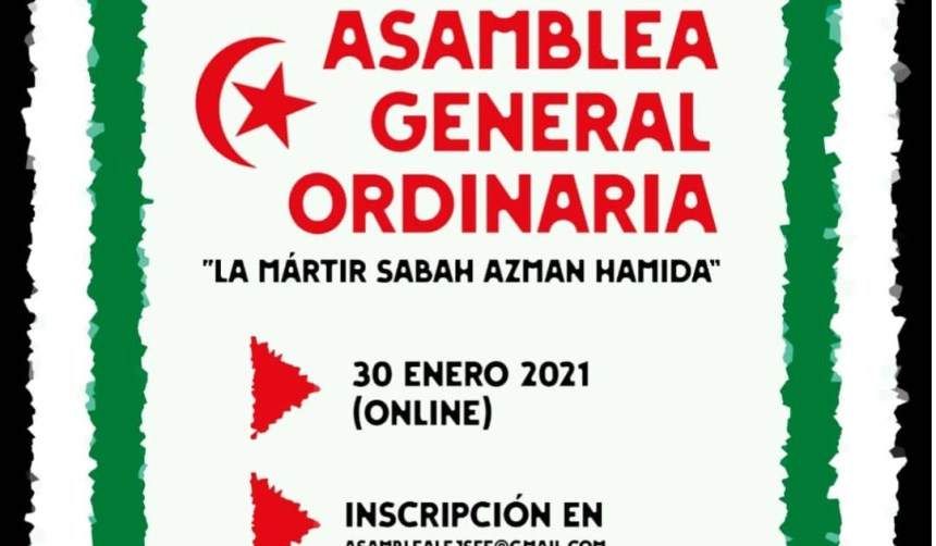 La organización juvenil saharaui LEJSEE convoca su V Asamblea General ordinaria