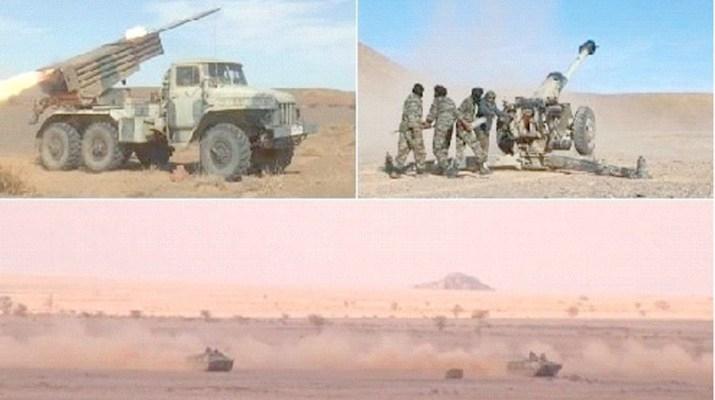 GUERRA EN EL SAHARA   Parte de Guerra Nº62