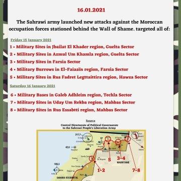 ¡ÚLTIMAS noticias – Sahara Occidental! | 16 de enero de 2021