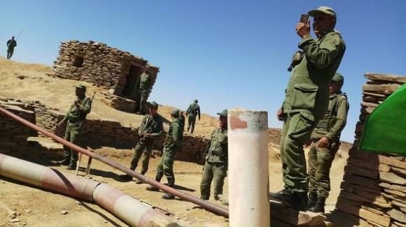 Guerre au Sahara occidental: difficultés logistiques dans les rangs de l'armée marocaine | Sahara Press Service