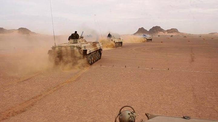 50 días de continuo bombardeo a posiciones enemigas a lo largo del muro militar marroquí | Sahara Press Service