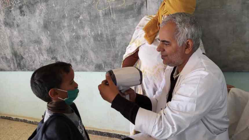 Empiezan las misiones médicas especializadas de salud escolar | Sahara Press Service