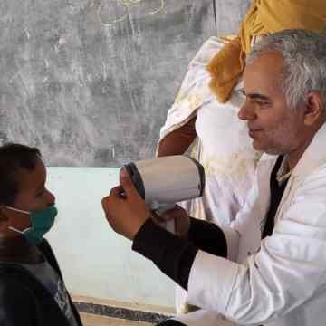 Empiezan las misiones médicas especializadas de salud escolar   Sahara Press Service