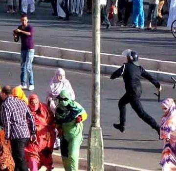 Les forces d'occupation marocaines continuent d'assiéger le domicile de la militante sahraouie Sultana Khaya | Sahara Press Service