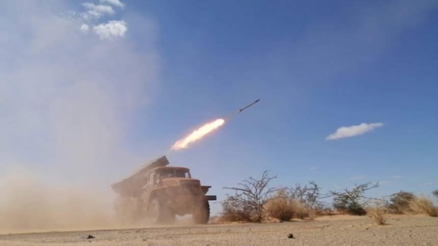 SPLA continue its attacks on enemy bases | Sahara Press Service