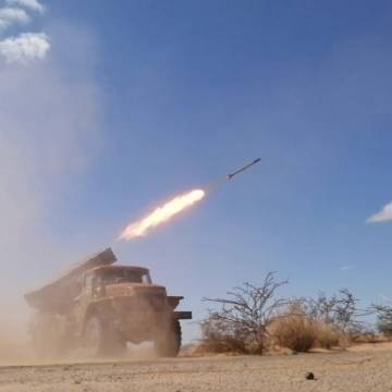 SPLA continue its attacks on enemy bases   Sahara Press Service