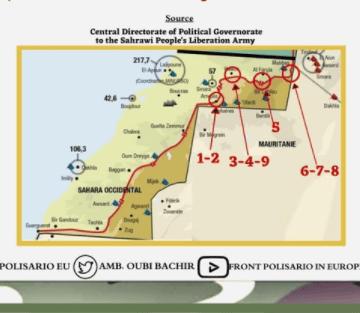 GUERRA EN EL SAHARA | Dos meses de bombardeos de bases enemigas | Sahara Press Service