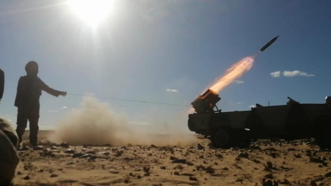 510 ofensivas y continúan los bombardeos contra bases del enemigo a lo largo del muro militar marroquí | Sahara Press Service