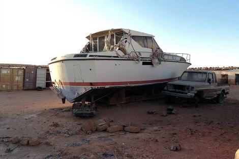 Retoman el proyecto para poner a flote EL BARCO DEL DESIERTO, buque insignia para la causa saharaui