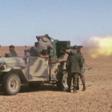 El ELPS bombardea las fuerzas de ocupación a lo largo del muro militar marroquí | Sahara Press Service