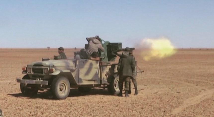 GUERRA EN EL SAHARA   Parte de guerra Nº101