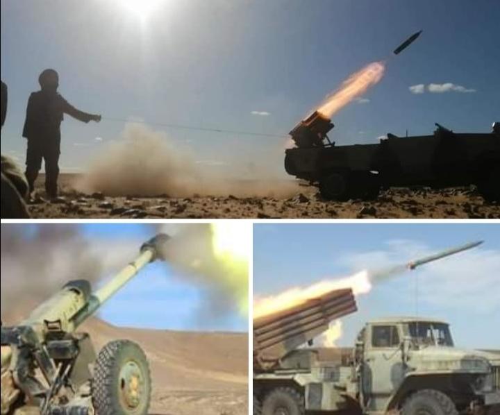 GUERRA EN EL SAHARA | Parte de Guerra Nº85