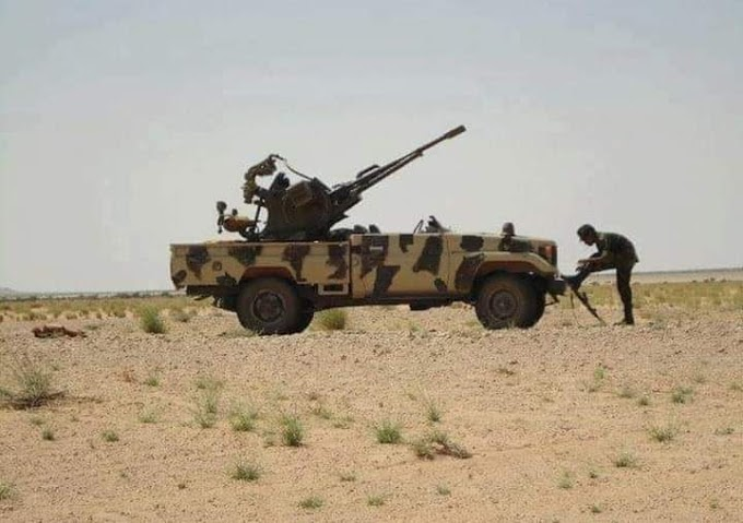GUERRA EN EL SAHARA | Parte de Guerra Nº102