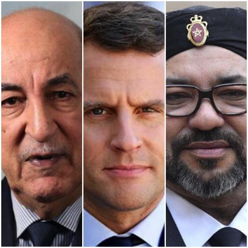 Francia pidió a Tebboune que medie para el cese de las hostilidades entre el Frente Polisario y Marruecos