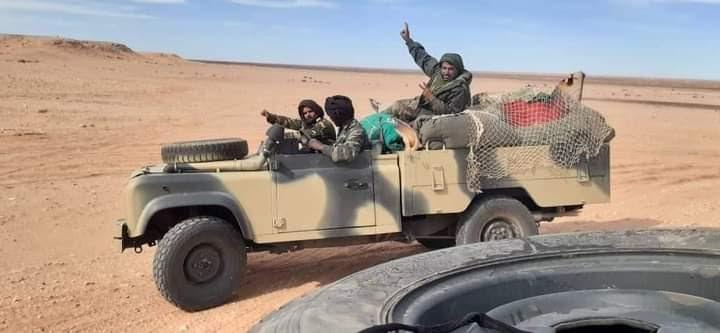 El Ejército saharaui mantiene el cerco en Guelta Zemmur, que lleva 6 días consecutivos bajo bombardeos intensos