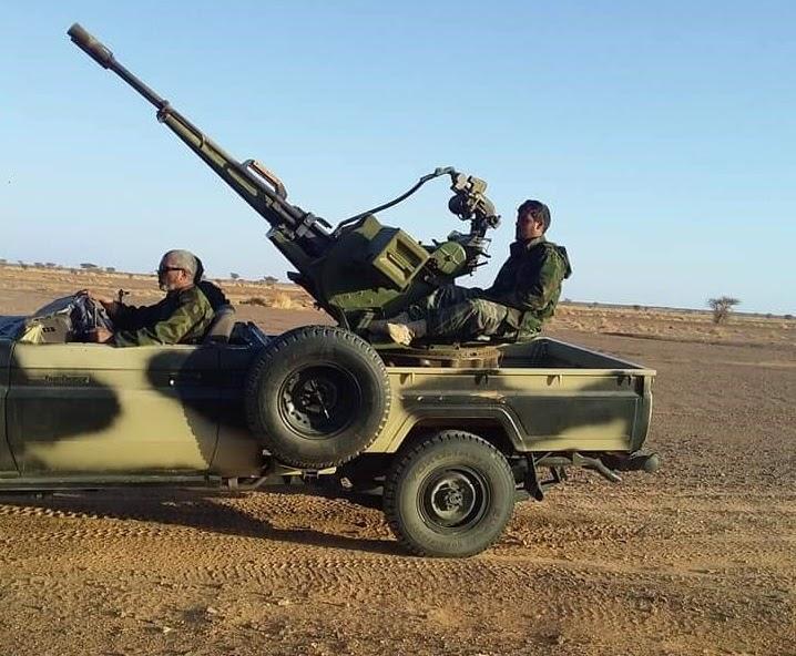 GUERRA EN EL SAHARA | Parte de guerra Nº97