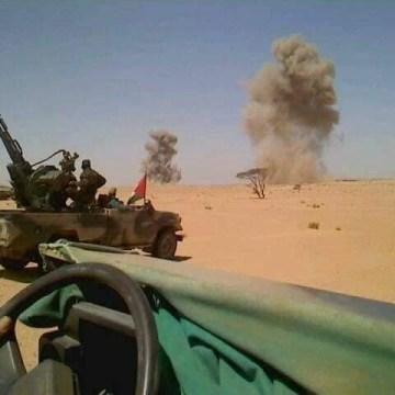Intervención militar del Ejército de Liberación Saharaui en el norte del Sáhara Occidental