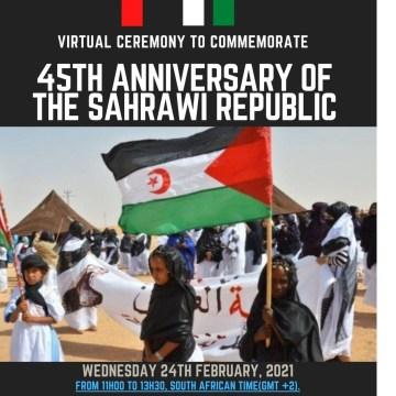 RASD-anniversaire : l'Afrique ne sera jamais libre tant que l'un de ses pays continue à être occupé | Sahara Press Service