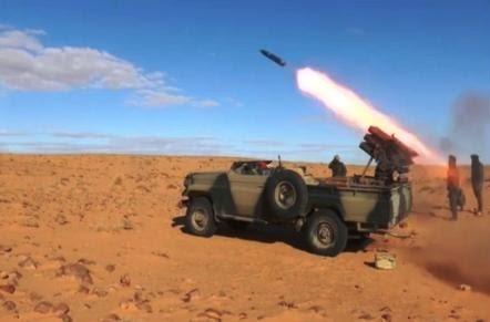 GUERRA DEL SAHARA | Parte de guerra Nº81