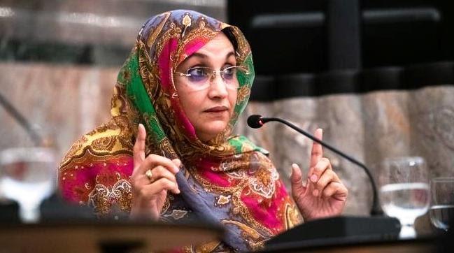 Aminetu Haidar alerta sobre el aumento de la represión marroquí en el Sáhara Occidental contra activistas saharauis de DD.HH.