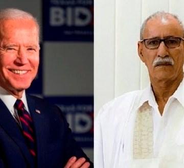 Brahim Ghali pide a Biden que intervenga urgentemente para proteger a los civiles saharauis en los territorios ocupados