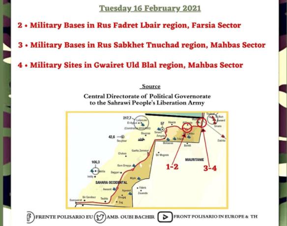 La #ActualidadSaharaui: 17 de febrero de 2021 🇪🇭