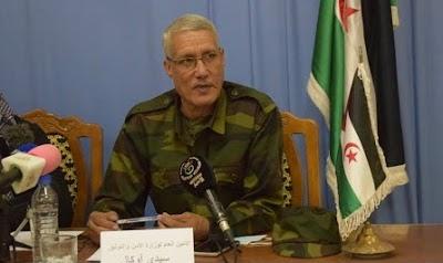 Sidi Ougal confirma que el Ejército saharaui ha frustrado los planes marroquíes de construir un nuevo muro