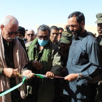 Presidente de la República inaugura las nuevas sedes de la RN saharaui y UPES | Sahara Press Service