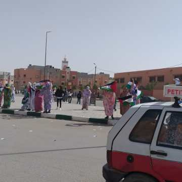 Organizan varias manifestaciones en El Aaiún ocupado en solidaridad con la activista Sultana Jaya y su familia | Sahara Press Service