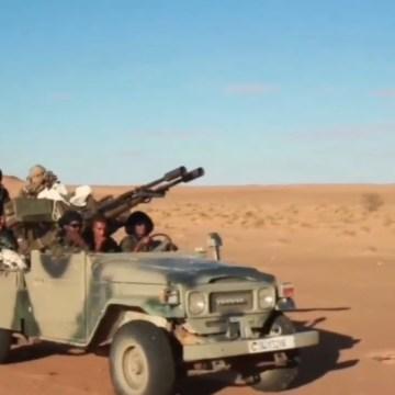 GUERRA EN EL SAHARA | Parte de guerra Nº110